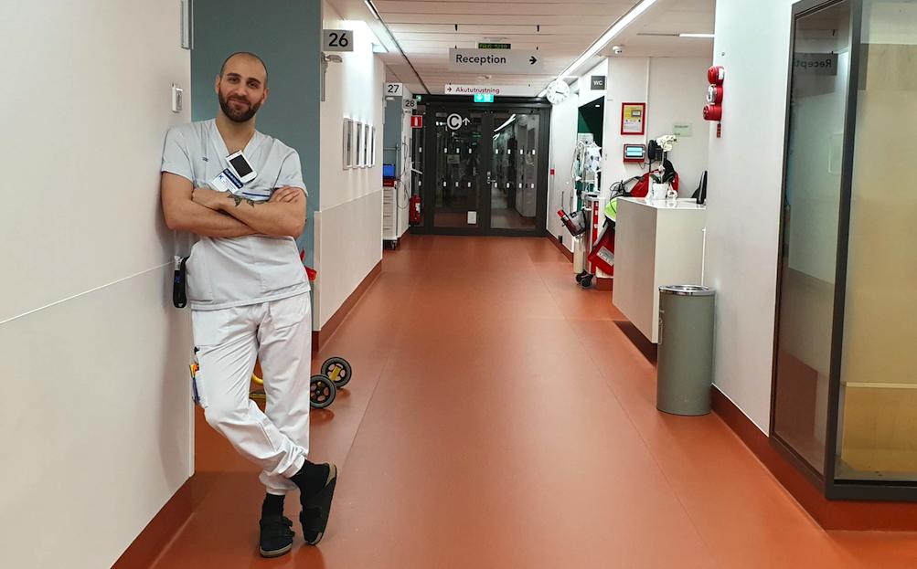 Johan – Verpleegkundige